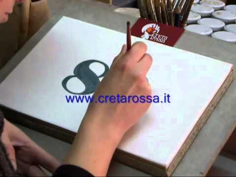 Mattonella artigianale in ceramica youtube