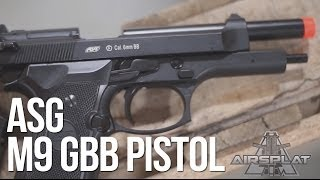 ASG M9 Heavy Weight GBB Airsoft Pistol - AirSplat On Demand