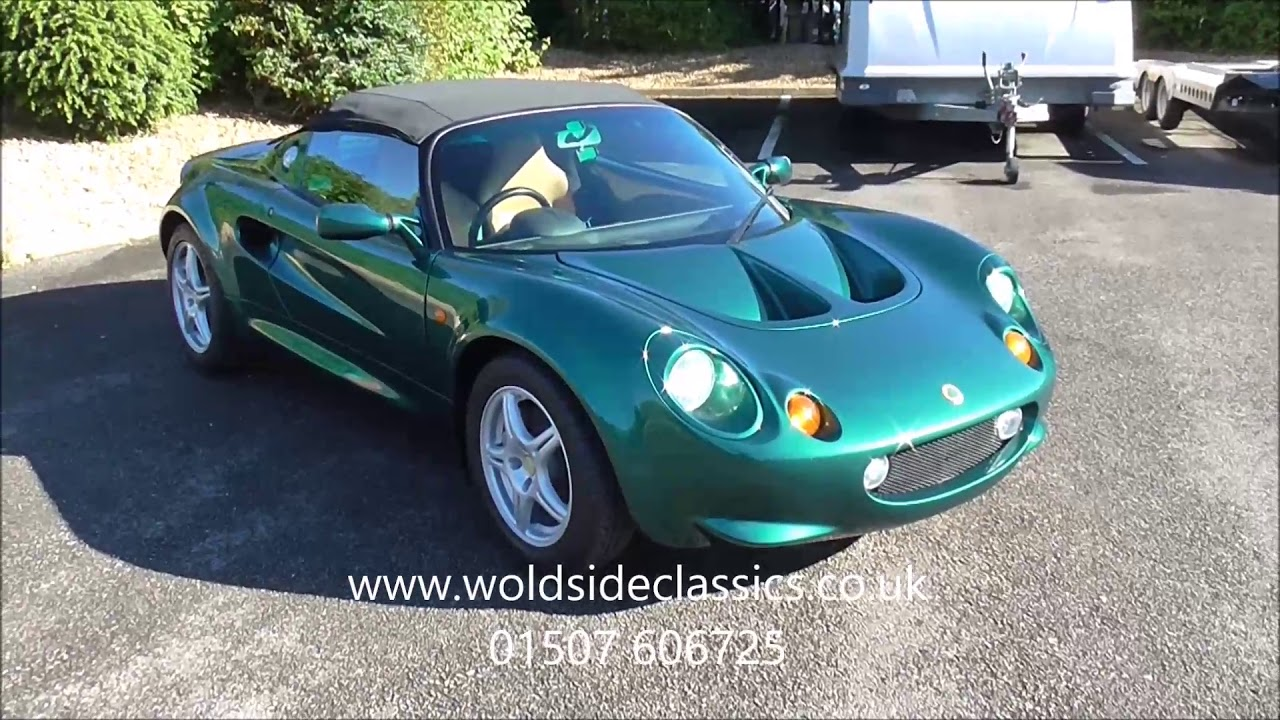 1996 Lotus Elise S1 1 8 2dr Roadster For Sale in Louth, Lincolnshire ...
