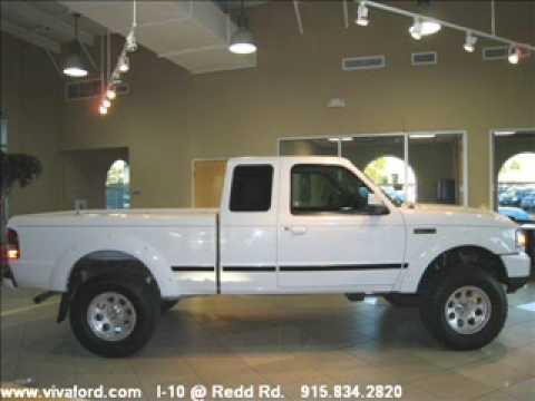 2006 Ford Ranger Super Cab - Viva Ford El Paso, TX - YouTube