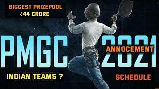 PMGC 2021 Annocement🔥- Biggest Event of Pubg Mobile Esports, Biggest Prize Pool $6 Million, Schedule
