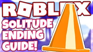 How to get the SOLITUDE ENDING + BADGE | Roblox CONE