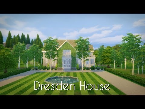 Dresden House // Sims 4 Speed Build