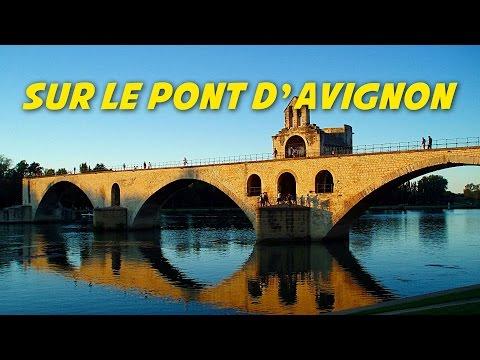 Sur le pont d'Avignon (instrumental - lyrics for karaoke)(paroles)