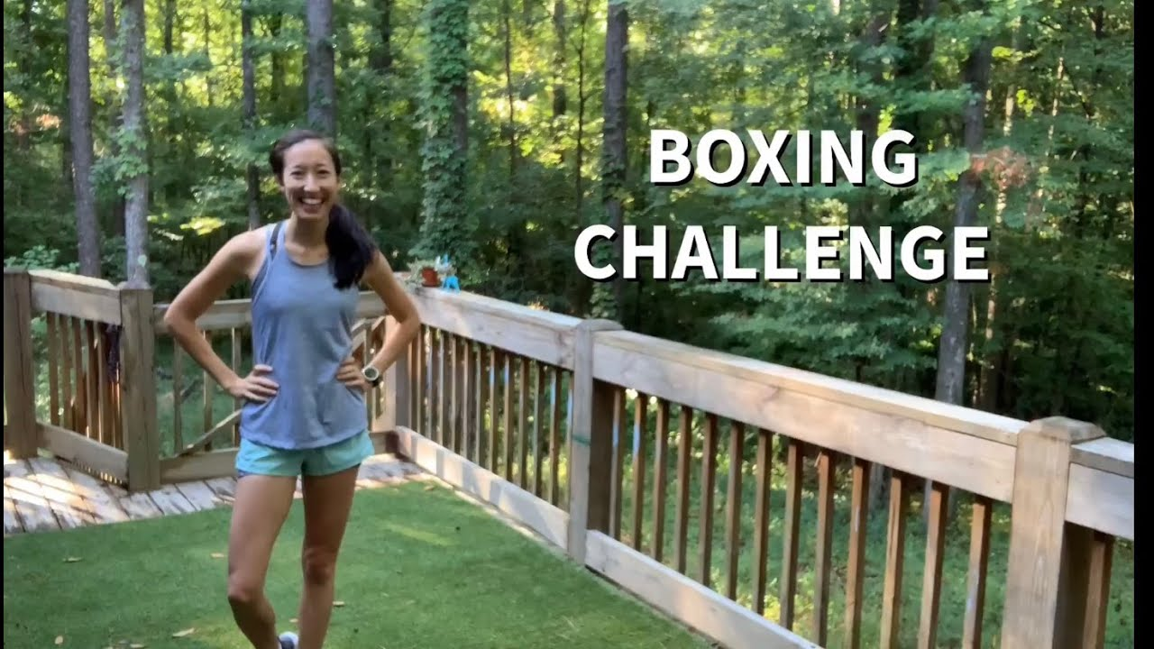 BOXING CHALLENGE: VIDEO COMBOS!