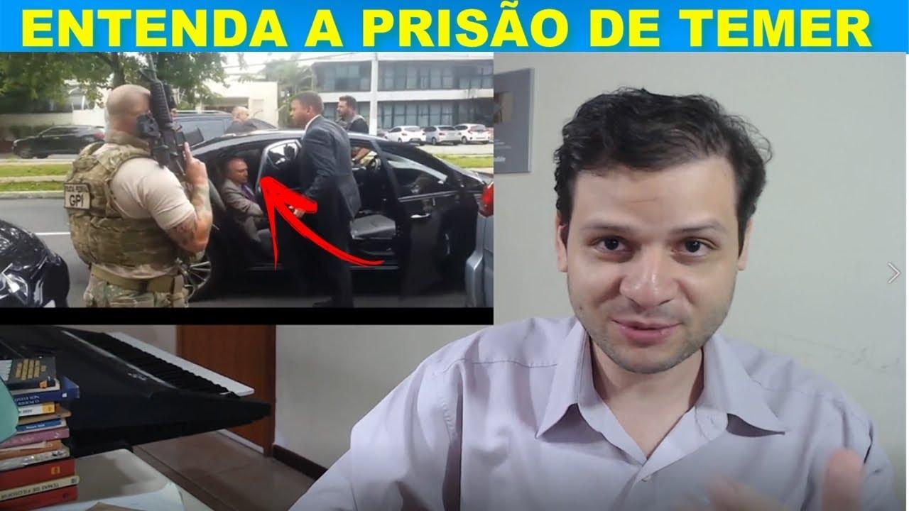 Entenda a prisão de Michel Temer / Moreira Franco e Maia / José de Abreu