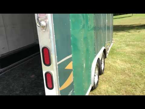 Pace enclosed trailer 8x18
