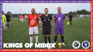 MIDDLESEX COUNTY CUP   TAKERS VS SHIRE UNITED   SUNDAY LEAGUE FOOTBALL  