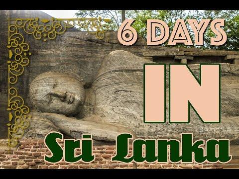 6 Days in Sri Lanka | Colombo, Kandy, Sigiriya, Polonnoruwa, Negombo
