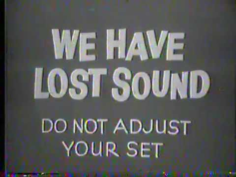 WHEC TV technical difficulties 1978