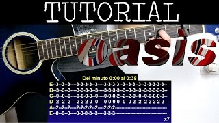 Cómo tocar Wonderwall de Oasis (Tutorial Guitarra) / how to play
