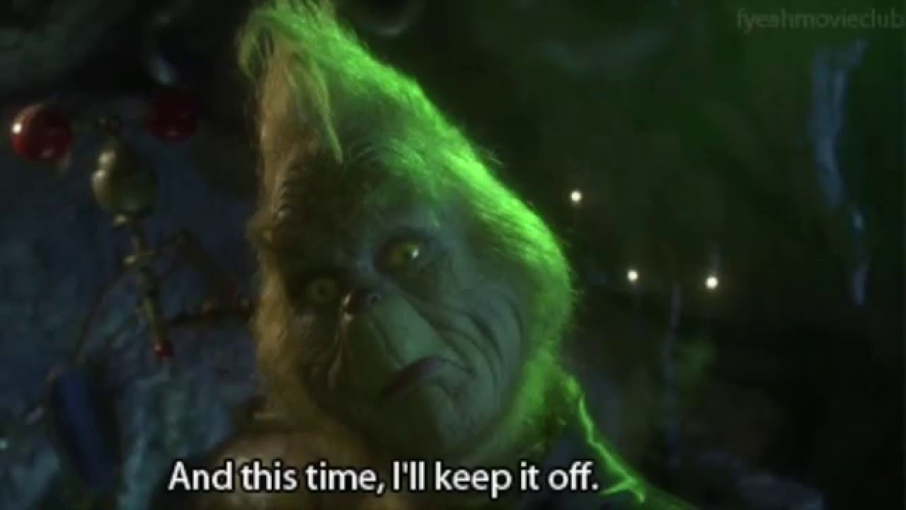 "Grinch Quotes The 12 Most Relatable Quotes From ""The Grinch""   YouTube Grinch Quotes"