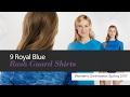 10 Royal Blue Rash Guard Shirts Women's Swimwear, Spring 2017