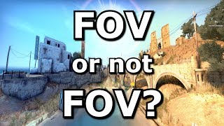 CS GO's FOV - Your resolution matters