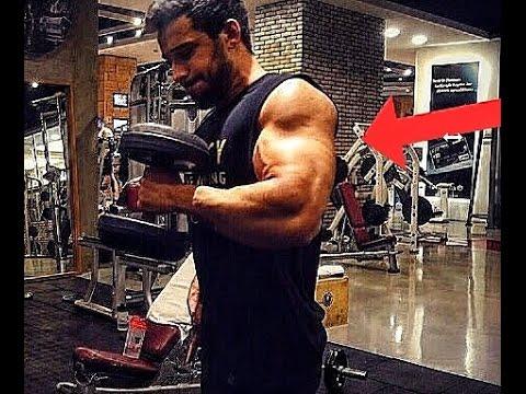 Baran Kalaycı, Büyük Kollar Için Biceps&Triceps Antrenmanı