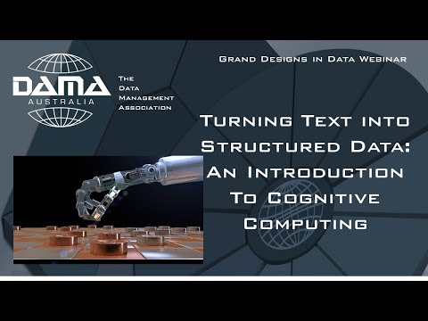 Turning Text into Structured Data   An Introduction to Cognitive Computing