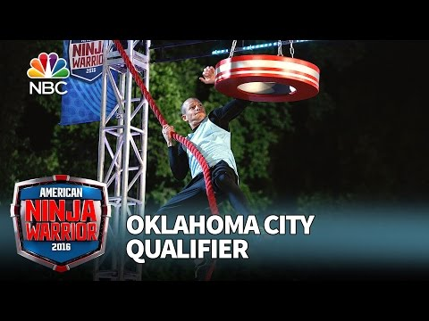 Brent Steffensen at the Oklahoma City Qualifier - American Ninja Warrior 2016