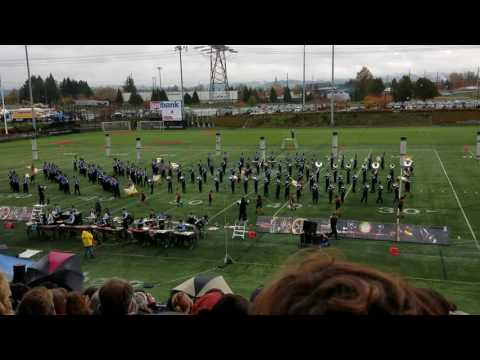 Grants Pass High School Marching Band 2016 NWAPA Championship Preliminary Performance