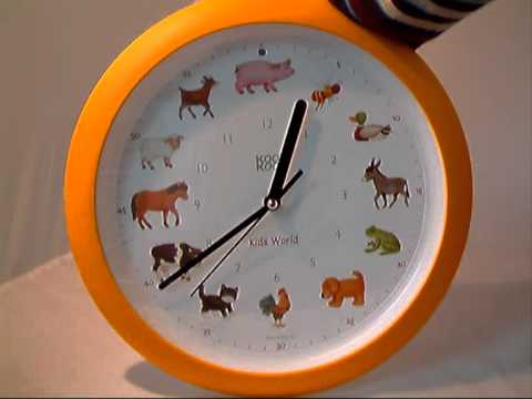 Animal Noise Clock Design Inspirations