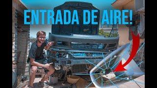 Como hacer una entrada de aire!    Civic rebuild #5