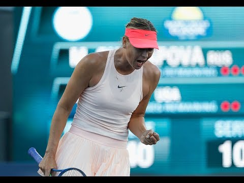 2017 Bank of the West Classic Day 1 | Maria Sharapova vs Jennifer Brady | WTA Highlights