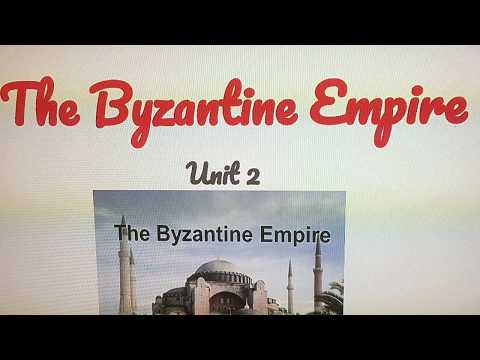The Byzantine Empire slide(This Is For Studying Or For Teachers)
