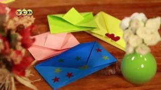 Как сделать конверт из бумаги. Мастер-класс