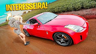 FIZ DRIFT COM A INTERESSEIRA DO NISSAN 350Z !