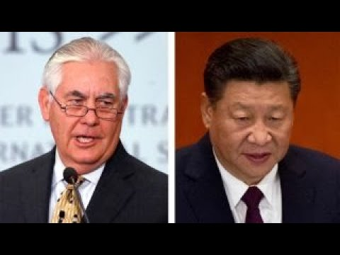 Secretary of State Tillerson calls out China's leadership