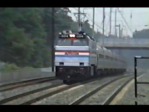 Northeast Corridor Trains - Seabrook MD - July 3 1991