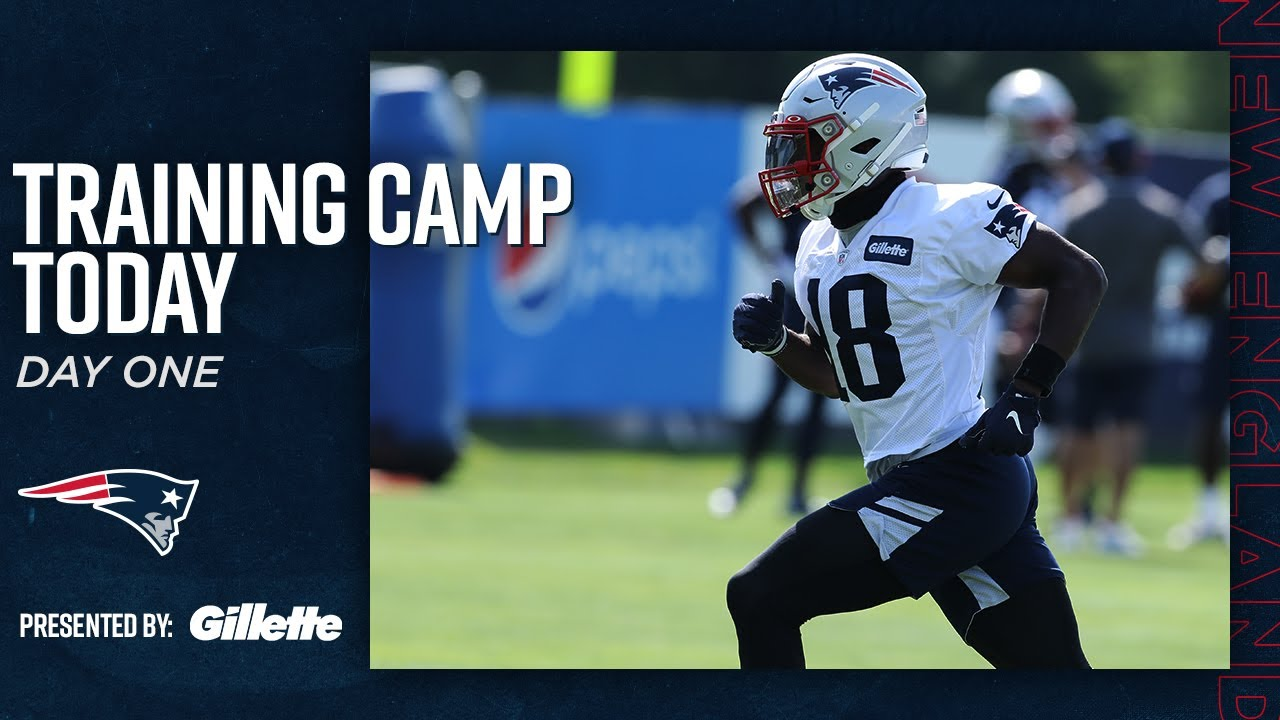 Breaking Down Day 1 of Patriots Training Camp | Training Camp Today 8/12