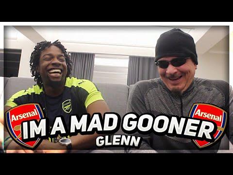 I'm A Mad Gooner!   Arsenal Will Win The Europa League!   Ft Glenn & Lumos