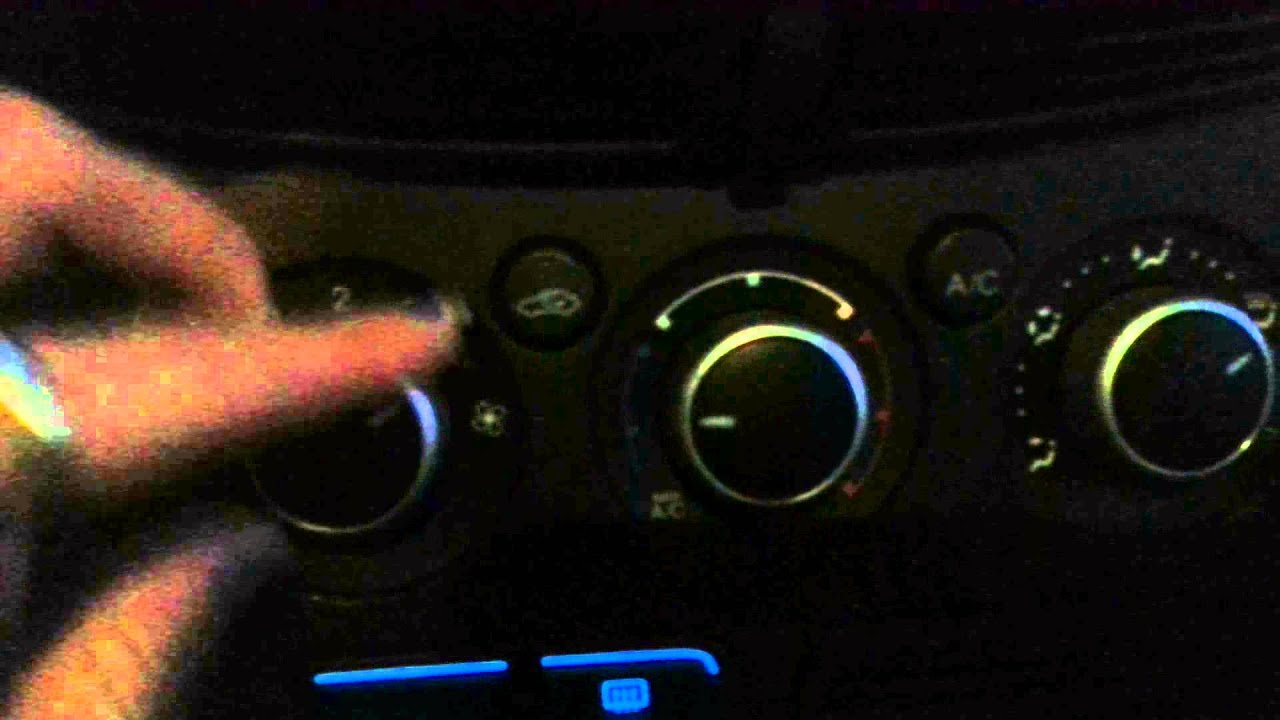 Issue With Ford Escape Heat