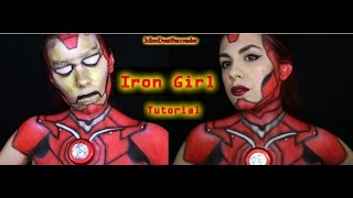 Iron Girl tutorial (Marvel inspired) / MissDontSur