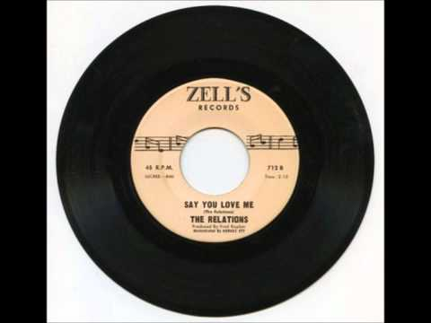 RELATIONS - SAY YOU LOVE ME - ZELL'S 712 B - 1970'S