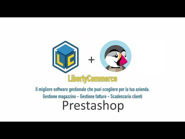 Gestionale PrestaShop - LibertyCommerce Academy