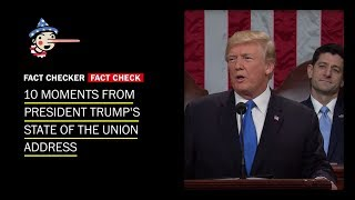 Fact-checking the 2018 State of the Union address