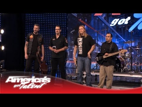 American Hitmen  Rockin Lynyrd Skynyrd Simple Man   Americas Got Talent 2013