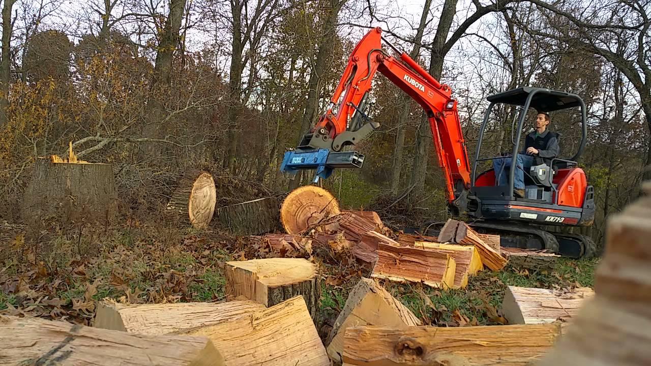 Excavator Log Splitter Project 3 Doovi