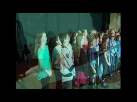 South Londonderry Elementary School - U.S. Anthem - November 6, 2016