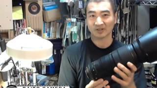 Nikon 200-500F5.6 三脚座改造
