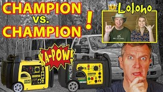 Champion Generators - What's Better for RV Camping, DUAL FUEL or REMOTE START?