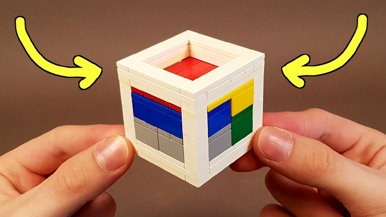 LEGO PUZZLE  BOX TUTORIAL / HOW TO MAKE A LEGO PUZZLE BOX