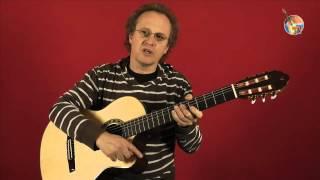 1.3 Gitarren, Haltung und Anschlag • Guitar-TV Gitarre lernen ohne Noten