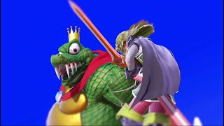 I WANT THE THRONE OF A K. ROOL KING