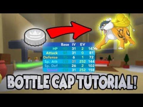 How To Get Bottle Caps In Pokemon Brick Bronze