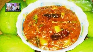 South Indian Mango Relish