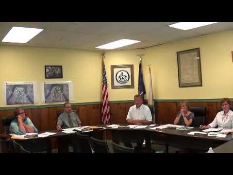 Champlain Village Board Meeting  8-14-17