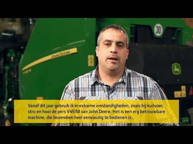 John Deere | Klantervaring V451M Balenpers