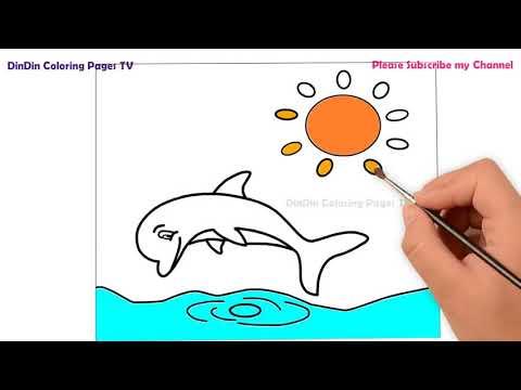 malvorlagen delfin youtube | aiquruguay